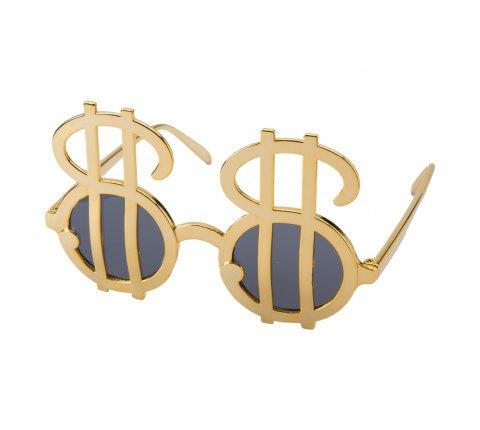 Lunettes Dollars dorées
