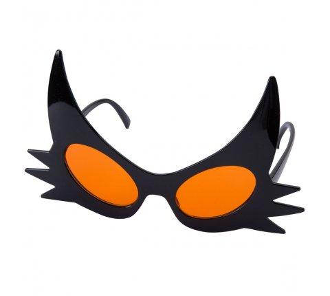 Lunettes Halloween noires et oranges